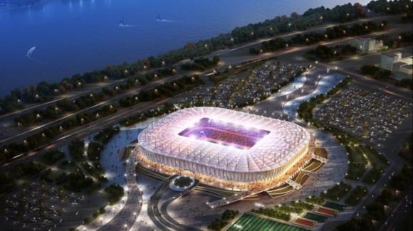 Rostov Arena, el primer estadio de Uruguay en Rusia 2018. Foto: FIFA