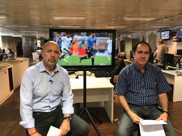 José Mastandrea y Luis Prats