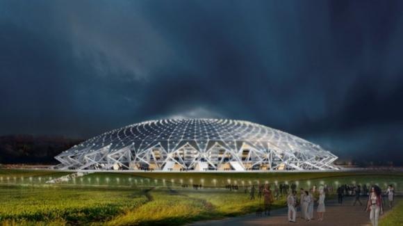 Samara Arena, el tercer estadio de Uruguay en Rusia 2018. Foto: FIFA