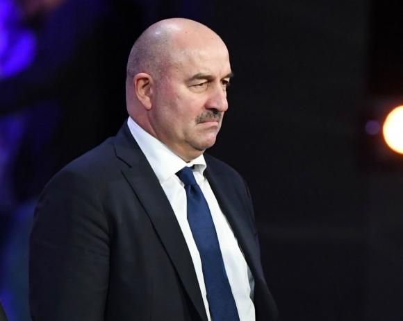 El entrenador ruso Stanislav Cherchesov. Foto: AFP