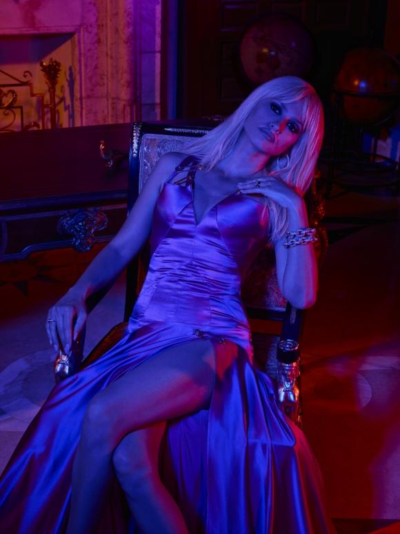 Penélope Cruz interpreta a Donatella Versace en la serie de Ryan Murphy. Foto: Difusión
