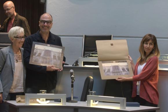 Declaran Ciudadanos Ilustres a Facundo Ramírez y Jaime Torres, integrantes de Misa Criolla 50 años. Foto: F. Flores