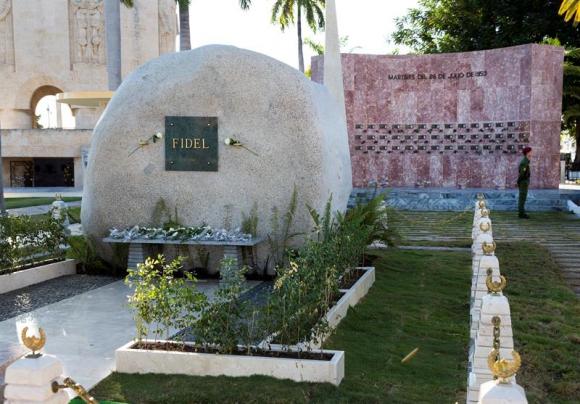 Resultado de imagen para ¿Cómo se concibió el sitio eterno de Fidel Castro?