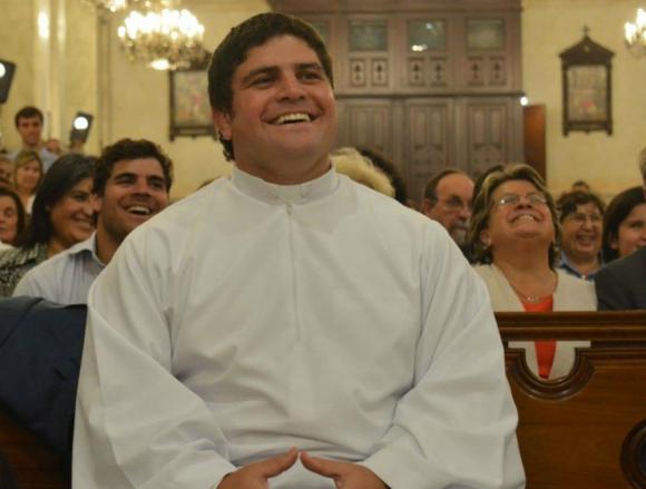 La primera misa que oficiará tendrá lugar mañana en la parroquia Stella Maris. Foto: Iglesia Católica