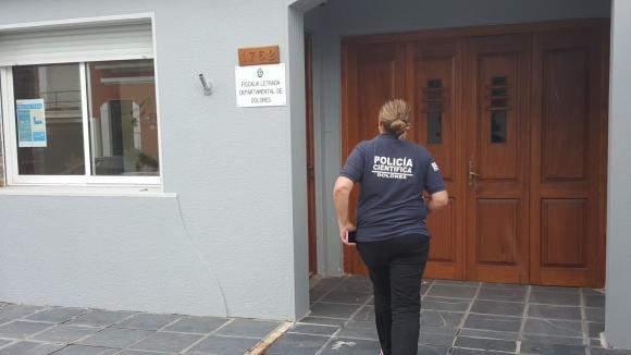 Policía Científica ingresa a la Fiscalía. Foto: Daniel Rojas