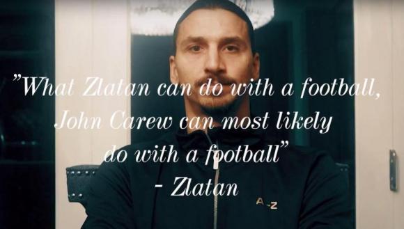 Zlatan Ibrahimovic repasa sus frases célebres.