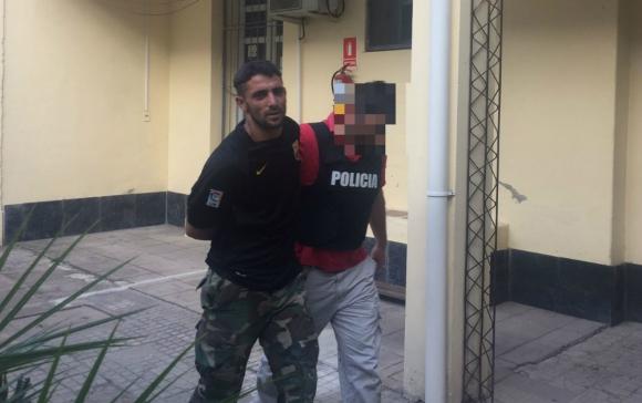 Marcelo Silvera Pacheco fue capturado por la Policía. Foto: Néstor Araújo