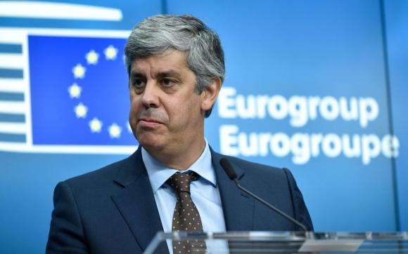 Mario Centeno, el nuevo presidente del Eurogrupo. Foto: AFP