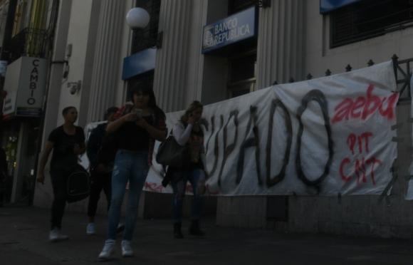 """La institución defendió el """"proceso de reorganización"""" que está llevando adelante. Foto: A. Colmegna"""