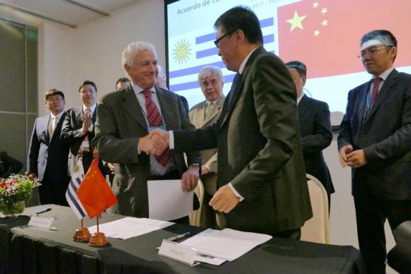 Cumbre: China-LAC se desarrolló en Punta del Este el viernes. Foto: R. Figueredo