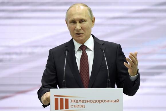 Vladimir Putin. Foto: AFP