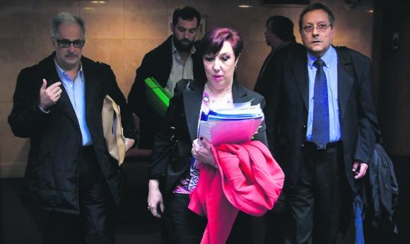 Funcionarios de SAME 105 denuncian a la presidenta de ASSE. Foto: F. Ponzetto