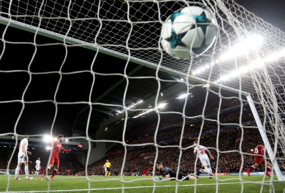 Liverpool fue muy superior a Spartak Moscú en Anfield. Foto: Reuters