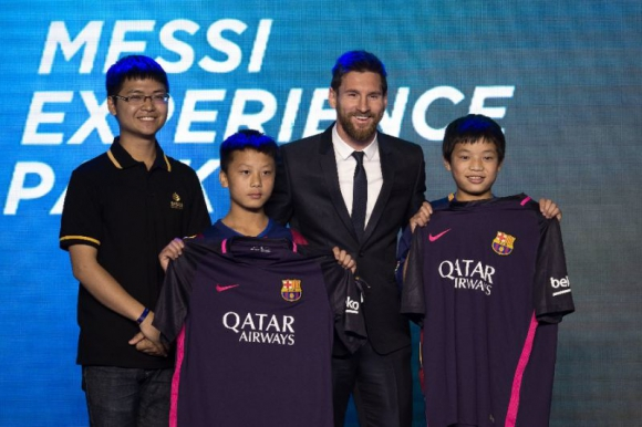 Marca Propia. Messi será el centro de un parque temático en China.