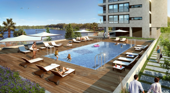 En Lago Mayor se podrá disfrutar de una amplia variedad de amenites, entre ellas, piscina al aire libre.