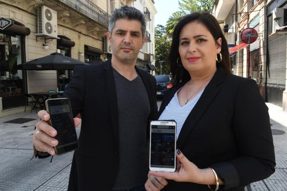Gonzalo y Cecilia González Spátola son los responsables de la idea. Foto: A. Colmegna