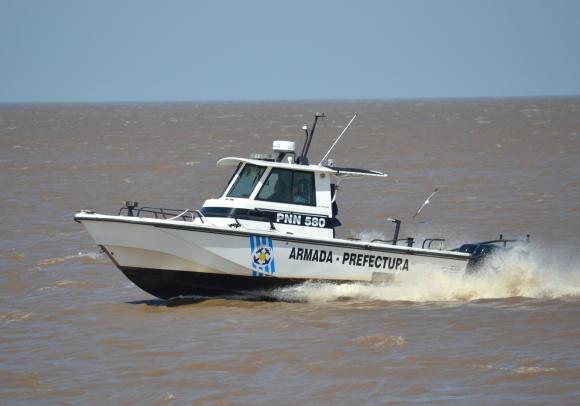 La Armada Nacional busca a una persona desaparecida en Piriápolis. Foto: Armada Nacional