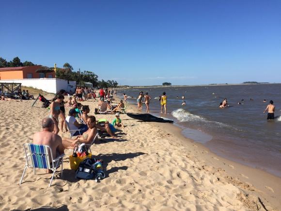 El balneario tiene más de 600 habitantes y recibe a miles de turistas. Foto: Néstor Araújo