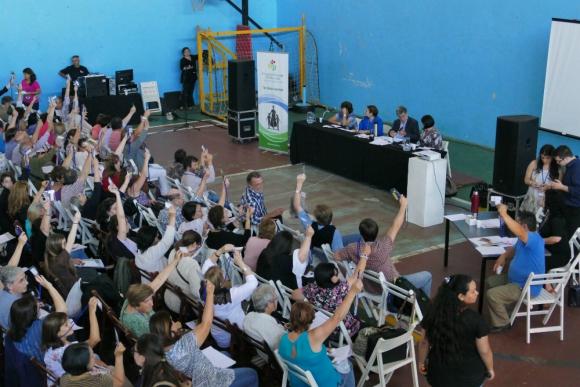 Cientos de personas participaron del congreso en Maldonado. Foto: R. Figueredo