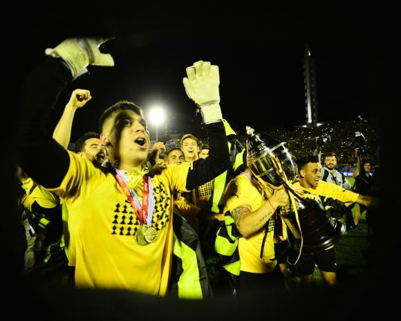 Celebración de Peñarol Campeón Uruguayo
