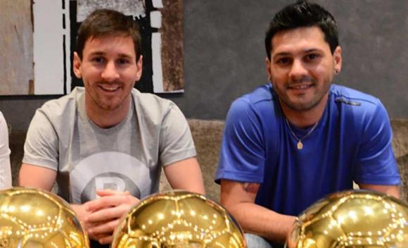 Matías Messi, hermano del futbolista Lionel Messi. Foto: Twitter  @CapitanOrto2020