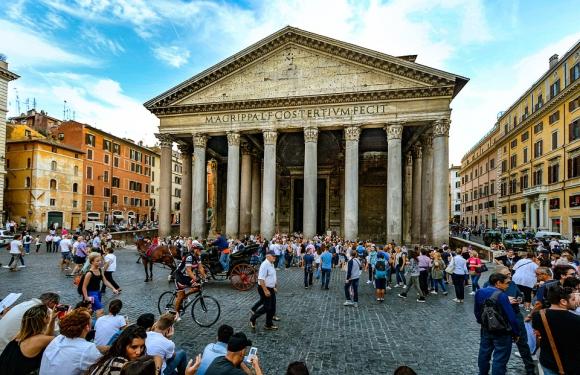 Panteón de Roma. Foto: Pixabay