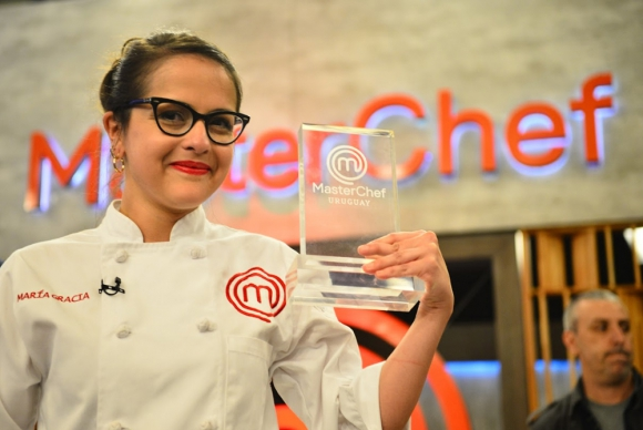 "María Gracia Sosa, ganadora de ""MasterChef"". Foto: Gerardo Pérez"