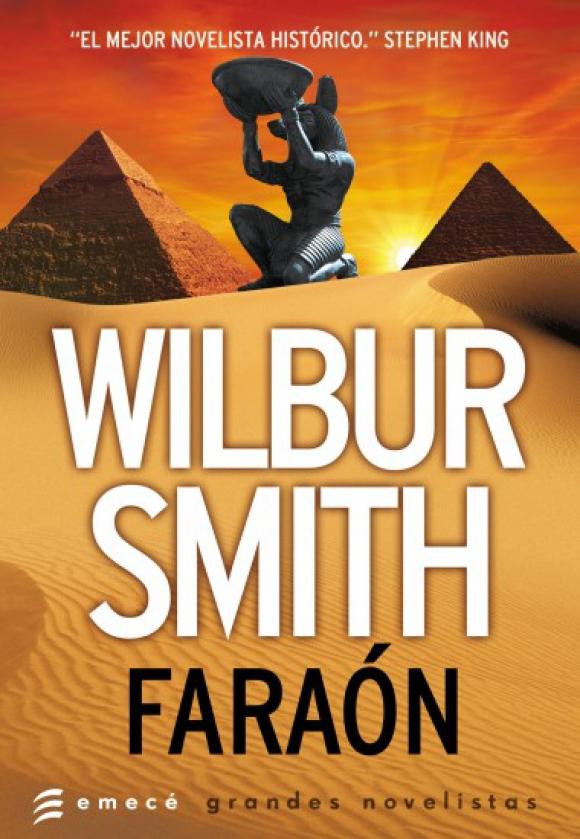 Portada de la novela Faraón de Wilbur Smith