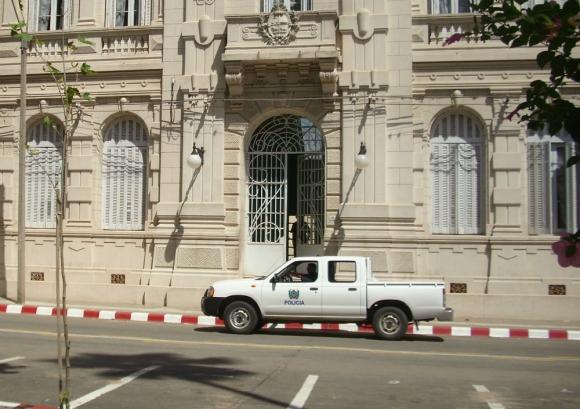 El camionero fue detenido y en esta jornada comparecerá en audiencia de formalización. Foto: N. Araújo