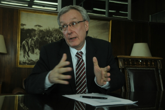 Joaquín Sierra, director de DGI, Foto: archivo El País