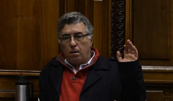 Darío Pérez, diputado del Frente Amplio por la Liga Federal. Foto: A. Colmegna