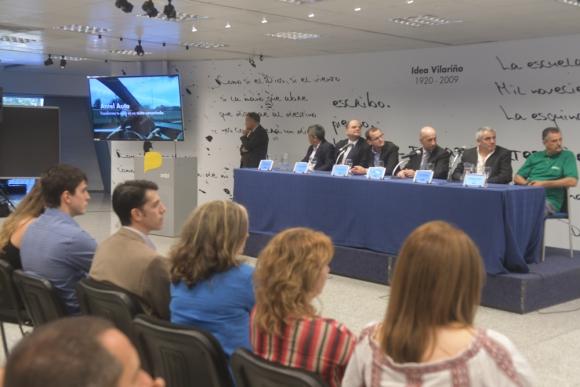 Ayer se realizó el lanzamiento de Antel Auto en la Torre de las Telecomunicaciones. Foto. F. Flores