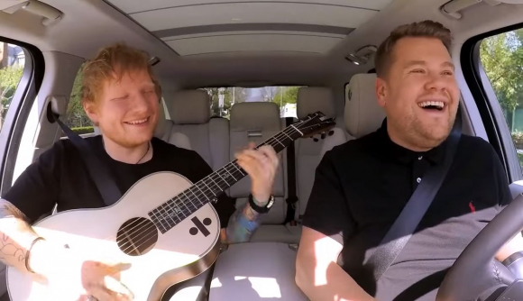 Carpool Karaoke con Ed Sheeran. Foto: Captura YouTube.