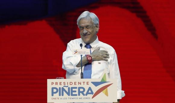 Sebastián Piñera promete que Chile será el primer país de la región en alcanzar desarrollo hacia 2025. Foto: