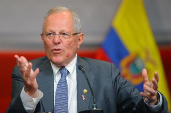 El presidente Pedro Kuczynski puede ser destituido. Foto: EFE