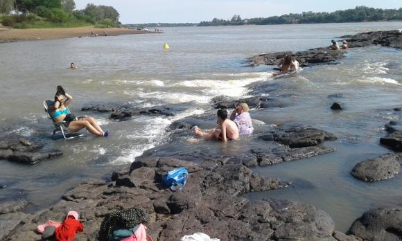 La ola de calor se hizo sentir en varias zonas del país. Foto: Luis Pérez