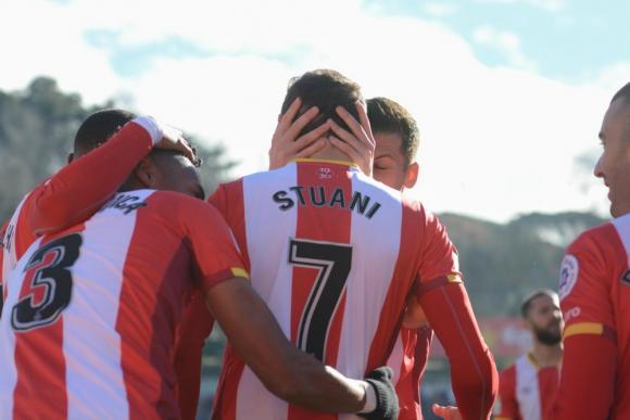 Otro gol más de Cristhian Stuani para el Girona