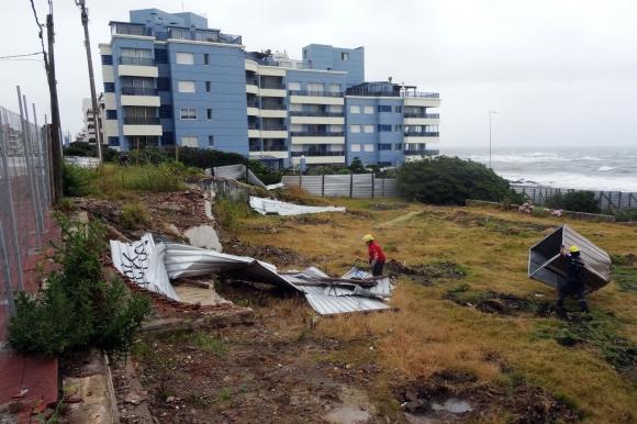Viento en Punta del Este. Foto: Ricardo Figueredo