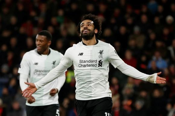 Mohamed Salah sigue creciendo en el juego de FIFA 18