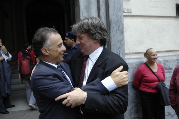 Fernando Calloia y Fernando Lorenzo. Foto: Archivo El País