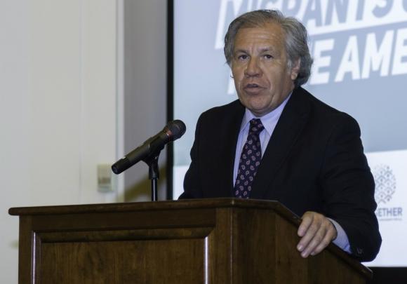 Luis Almagro, secretario general de la OEA. Foto: Efe.