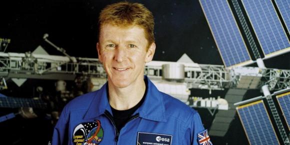 Timothy Nigel Peake es astronauta de la Agencia Espacial Europea. Foto: EFE