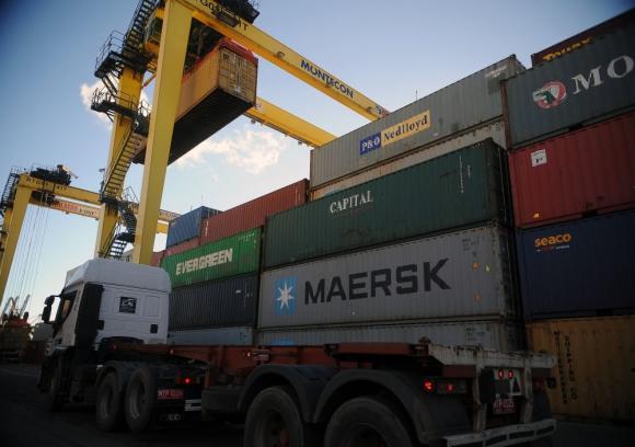 Agencia marítima Hambrug fue la que movilizó más contenedores en noviembre. Foto:  F. Ponzetto