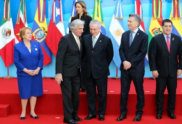 Macri viajará hoy a Brasilia para la cumbre de presidentes del Mercosur