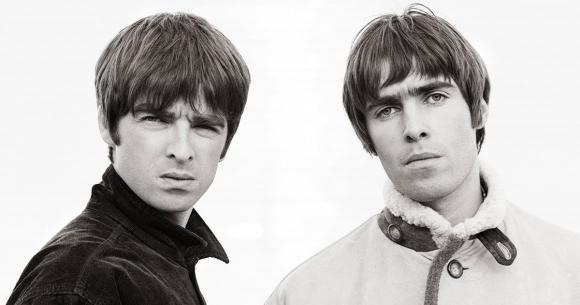 La banda inglesa Oasis