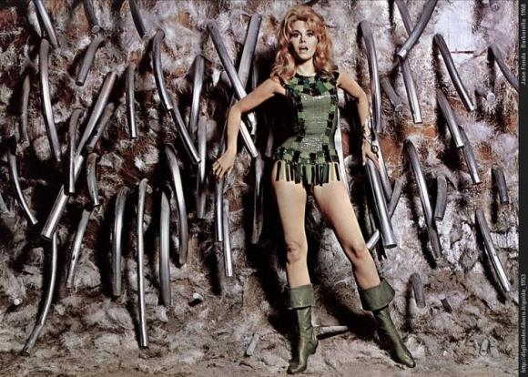 """Jane Fonda en """"Barbarella"""""""