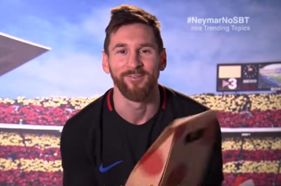 Messi le manda un emotivo mensaje a Neymar