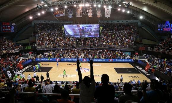 Liga de las Américas. Foto: FIBA.
