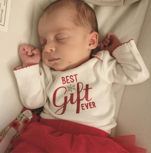 Emma, embrión congelado durante 25 años. Foto: AFP