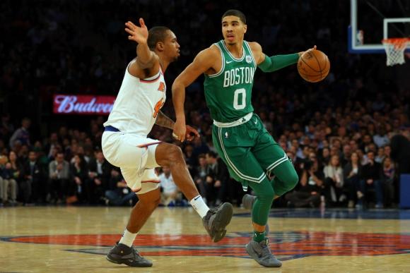 Jason Tatum la rompió en los Boston Celtics